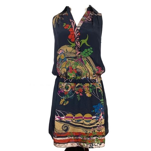 Anthropologie Dresses & Skirts - Anthropologie Leifnotes Silk Lilium dress size 2